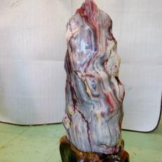 Cây đá đỏ canxite nặng cao 75 cm nặng 45kg cho người mệnh Thổ và Hỏa