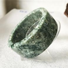 vòng tay bản vuông cao 3 cm nhiều size màu xanh lá cây