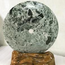 Đồng điếu đá Ngọc serpentine cho người mệnh Hỏa và Mộc  ( đường kính từ 15 cm đến 50cm)